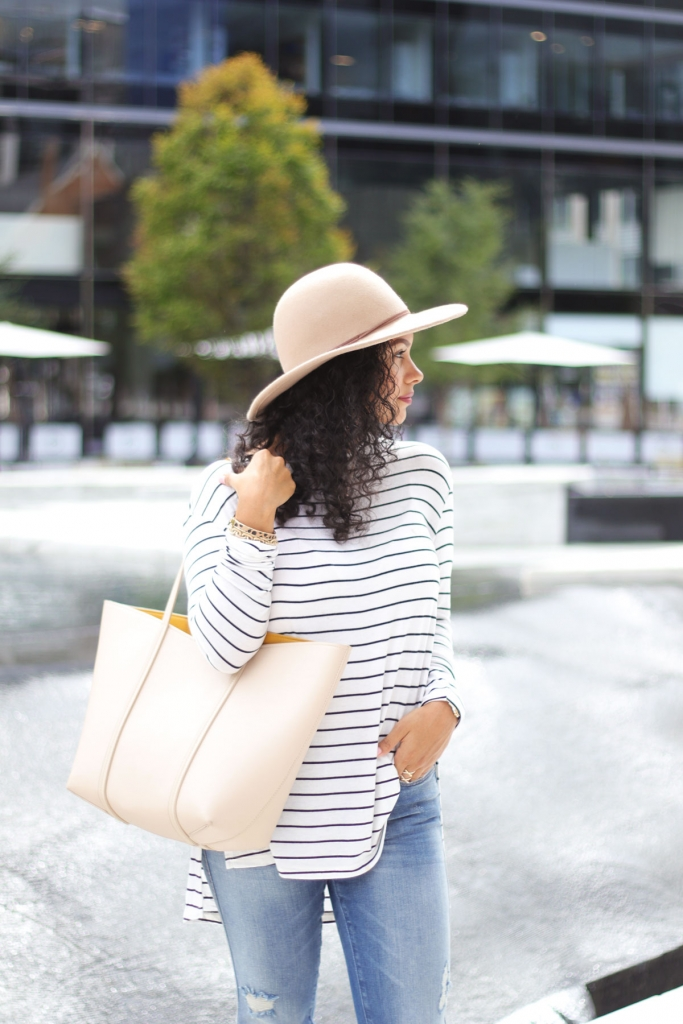 Fall Style: Stripes & Neutrals