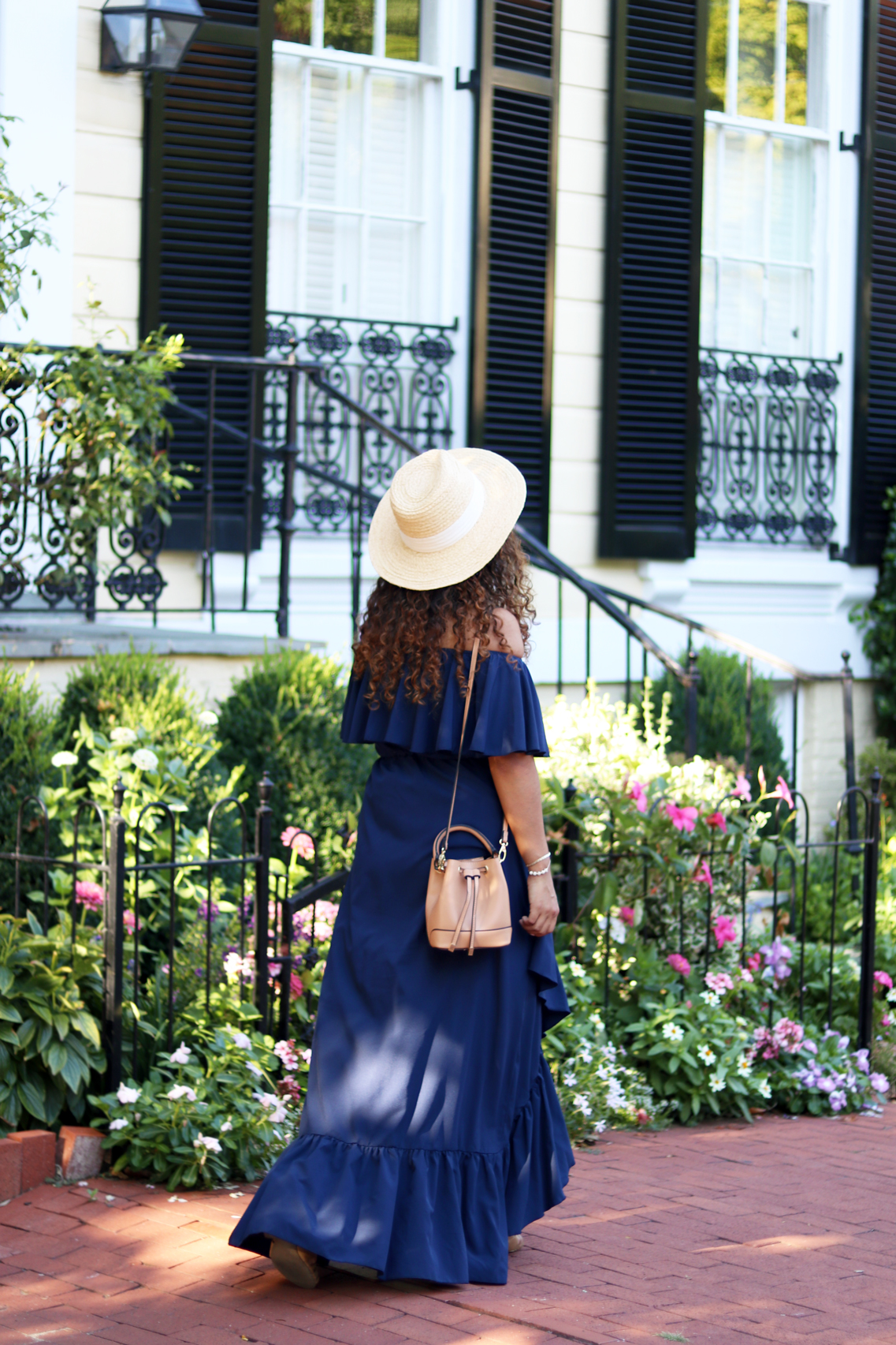 Summer Style: Off-the-shoulder Sun Dress